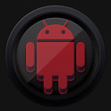 3D Black and Red - Icon Pack icon