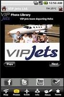 Screenshot of VIP Jets Ltd