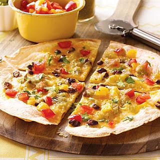 Tex-Mex Pizza.