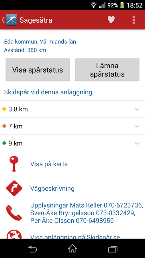 Skidspår.se - screenshot