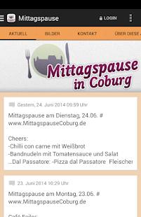 Mittagspause in Coburg - screenshot thumbnail