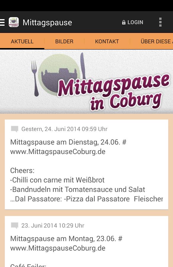Mittagspause in Coburg - screenshot