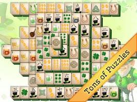 Screenshot of St. Patrick's Day Mahjong