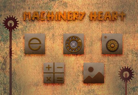 Machinery Heart Theme - screenshot