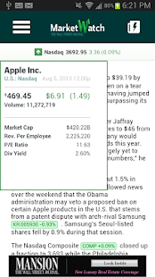 MarketWatch - Android Apps on Google Play