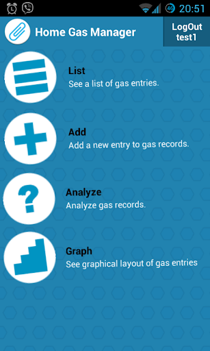 Home Gas Manager