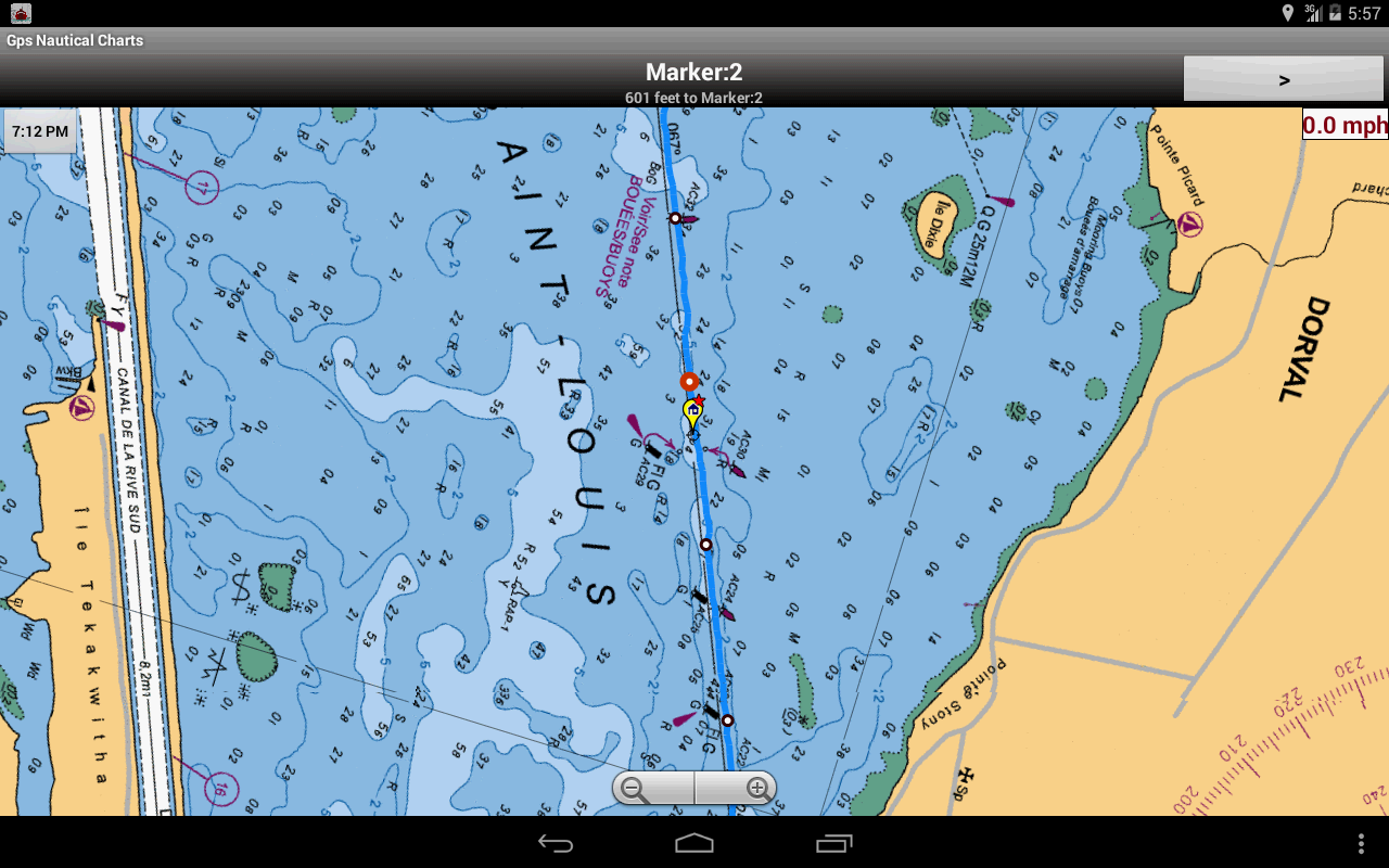 Nautical/Marine Charts-Belgium - screenshot