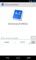 Screenshot of DictionaryForMIDs