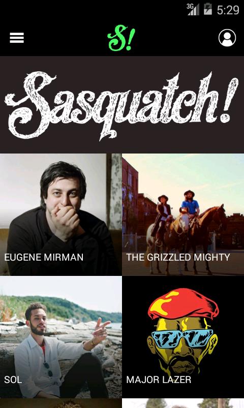 Sasquatch! Festival 2014 - screenshot
