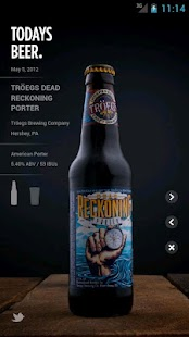 Today's Beer - screenshot thumbnail
