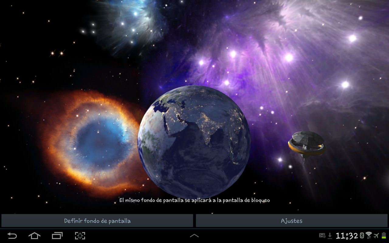 3d earth live wallpaper android apps on google play