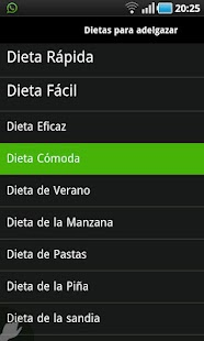 Dietas - screenshot thumbnail