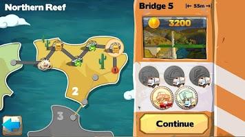 Screenshot of Bridge Constructor Playground