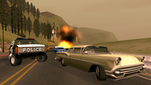 Grand Theft Auto: San Andreas Ігри для Android screenshot