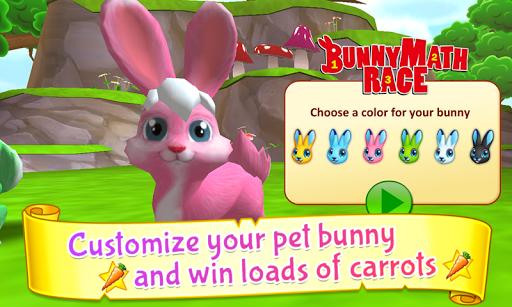 Bunny Math Race