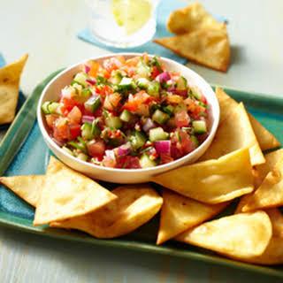 Fresh Tomato Salsa.
