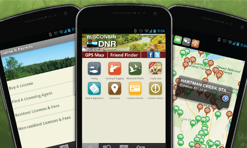 WI Fish & Wildlife Guide- screenshot