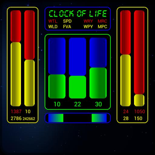 Clock of Life (space) LWP LOGO-APP點子
