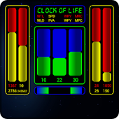 Clock of Life (space) LWP