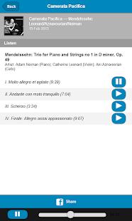 Camerata Pacifica- screenshot thumbnail