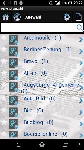 【免費新聞App】News Auswahl Zeitungen Deutsch-APP點子