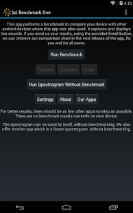 )s) Benchmark One Free - screenshot thumbnail