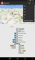 Screenshot of MetroMilan