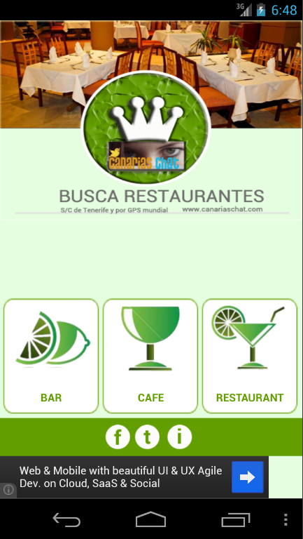 Tenerife y Restaurantes - screenshot