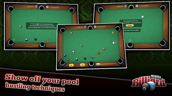 Mabuga Billiards- screenshot thumbnail