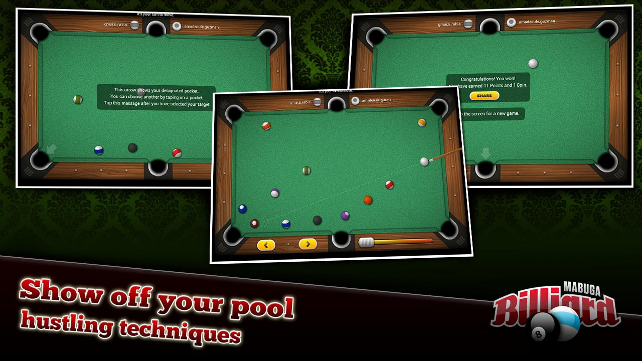 Mabuga Billiards- screenshot