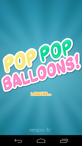 POP&TAP气球的孩子