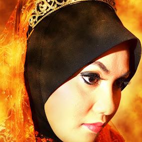 Arts by Tun Izmir - Digital Art People ( wedding, malay wedding arts )