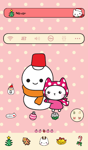 Love bani snow Dodol Theme