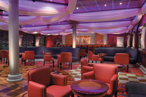 Carnival-Freedom-Swingtime-Jazz-Club - Meet new friends for cocktails at Carnival Freedom's Swingtime Jazz Club, a 1930s-themed dance and live music lounge.