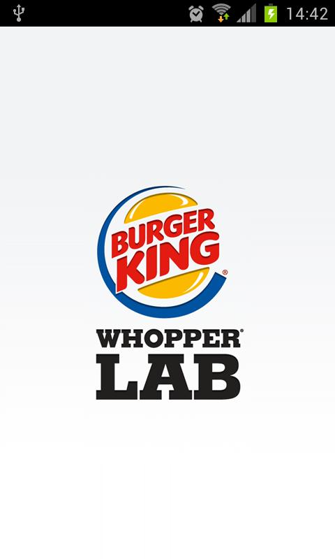 Burger King Whopper Lab - screenshot