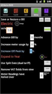 Gas/Electric Bill Checker- screenshot thumbnail