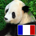 Animals in french logo