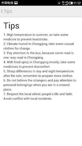 Travel in Chongqing
