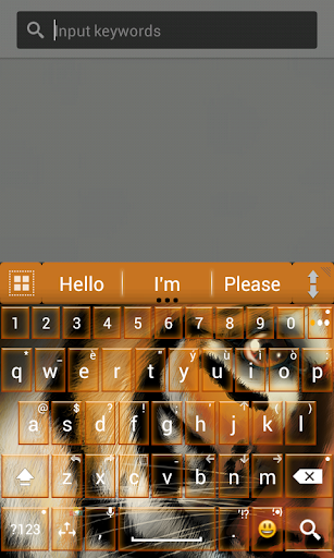 A.I.type theme gallery tiger א