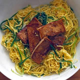 Momofuku's Ginger-Scallion Noodles with Tofu.