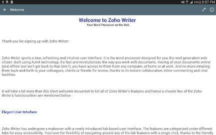 Zoho Docs Screenshot 11