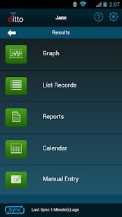 ditto Glucose Logbook- screenshot thumbnail