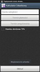 Kalkulator Odsetkowy Screenshot 2