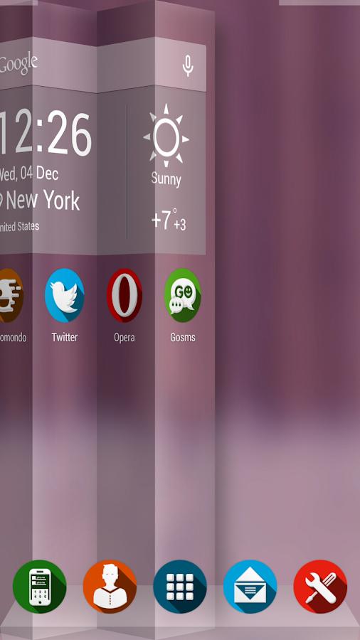 Next Launcher Theme Shader - screenshot