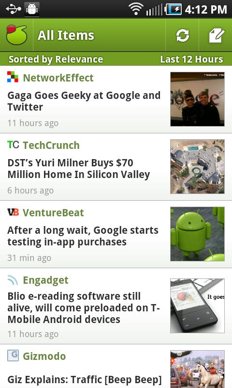 my6sense: Smart Social & News - screenshot