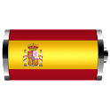 Spain: Flag Battery Widget logo