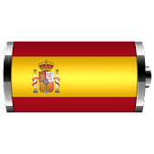 Spain: Flag Battery Widget
