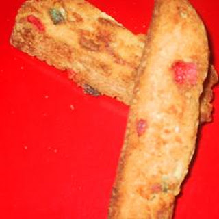 Candied Fruit Biscotti.