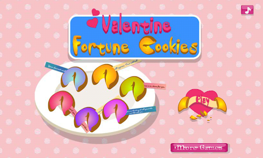 Fortune Cookies for Valentine