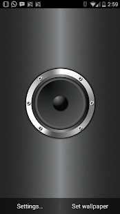 Live Wall Speaker (Wallpaper) - screenshot thumbnail